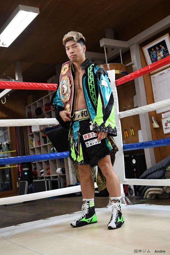 ボクシング元世界3階チャンピオン「田中恒成」選手